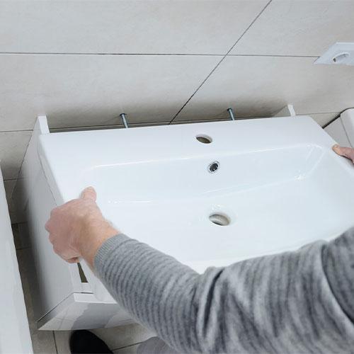 montaza umivaonika