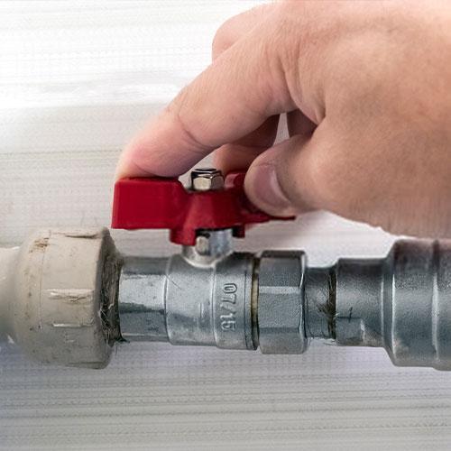 ugradnja ventila za vodu