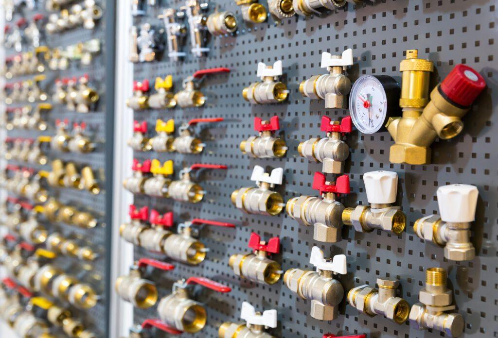 vrste ventila za vodu