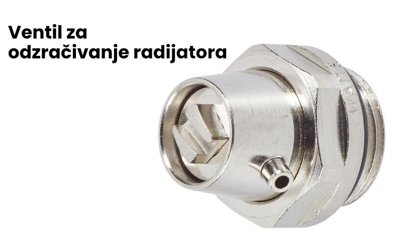 ventil za odzracivanje radijatora