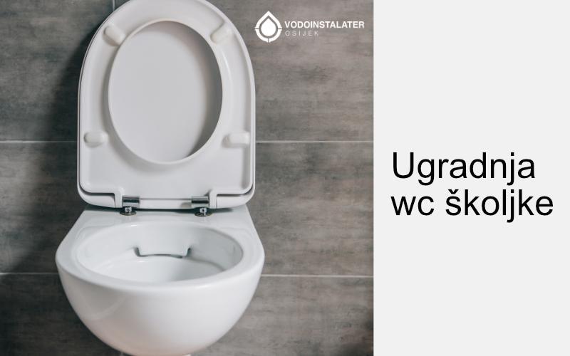 Ugradnja wc skoljke