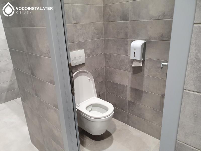 montaža wc školjke na zid - eurodom osijek