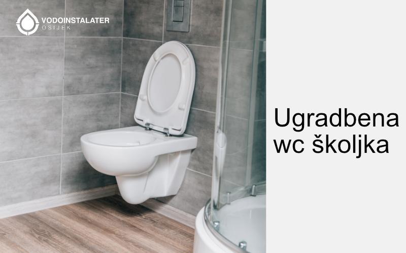 ugradbena wc skoljka