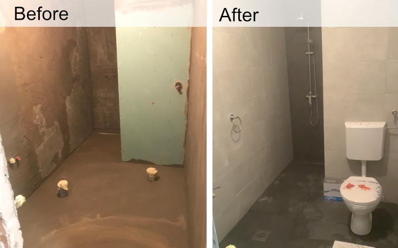 adaptacija kupaonice before and after
