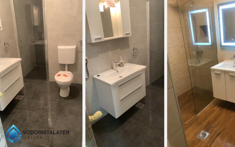 naši radovi adaptacija kupaonice