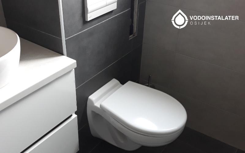 ugradjena wc školjka